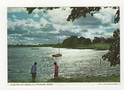 Lough Ree Near Athlone Co Westmeath 1978 Ireland Postcard 910a
