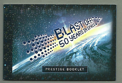 AUSTRALIA 2007 Prestige Booklet - BLAST OFF Space  - Complete  RRP $10.95 - MNH