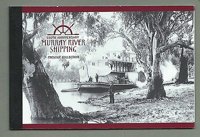 AUSTRALIA 2003 Prestige Booklet MURRAY RIVER SHIPPING Complete  RRP $10.95  MNH
