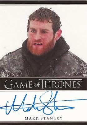 "Game of Thrones Season 3 - Mark Stanley ""Grenn"" Autograph Card"