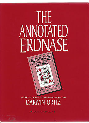 Annotated Erdnase by Darwin Ortiz   1991     -HB with DJ
