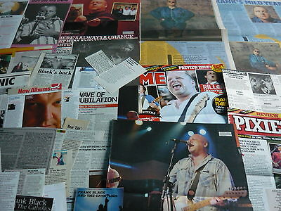Pixies/frank Black - Magazine Cuttings Collection (Ref Xd)