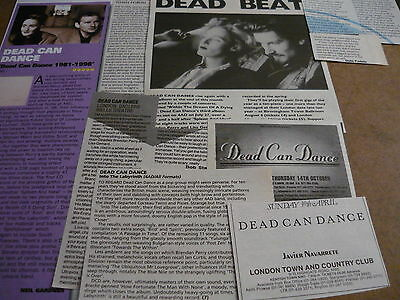Dead Can Dance - Magazine Cuttings Collection (Ref T5)
