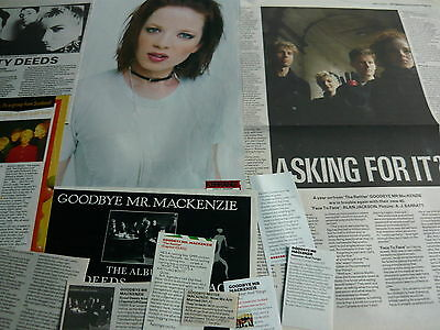 Goodbye Mackenzie/shirley Manson - Magazine Cuttings Collection (Ref Xd)