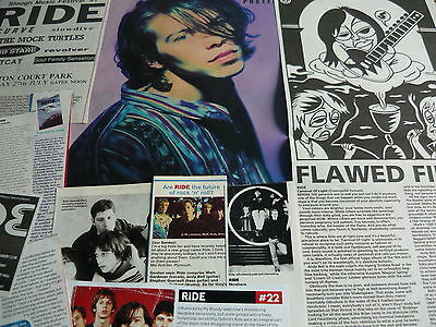 Ride - Magazine Cuttings Collection (Ref X)