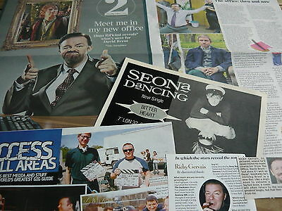 Ricky Gervais/seona Dancing - Magazine Cuttings Collection (Ref X)