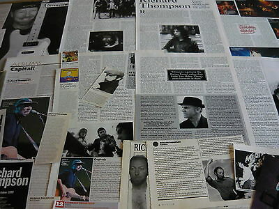Richard Thompson - Magazine Cuttings Collection (Ref B1)