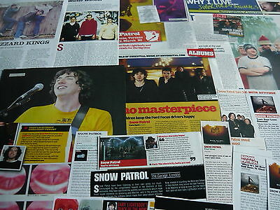 Snow Patrol - Magazine Cuttings Collection (Ref Xa)