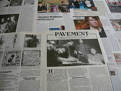 Stephen Malkmus/pavement - Magazine Cuttings Collection (Ref T4)