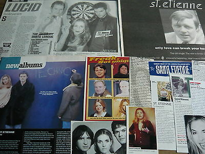 St. Etienne - Magazine Cuttings Collection (Ref Xb)