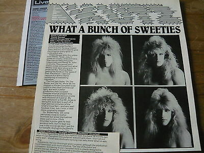 Sweet Savage - Magazine Cuttings Collection (Ref T4)
