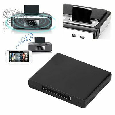 Bluetooth A2DP Music Receiver Adapter for iPod iPhone 30-Pin Dock Speaker Pro V1