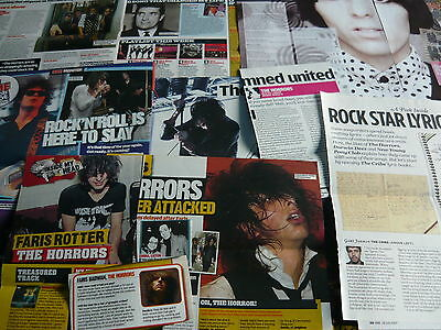 The Horrors - Magazine Cuttings Collection (Ref Z6)