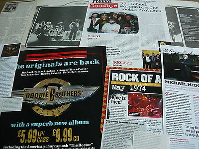 The Doobie Brothers - Magazine Cuttings Collection (Ref X1A)