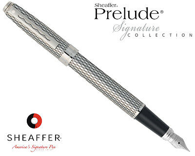 Sheaffer Prelude Signature Imperial Fountain Pen Medium 9169-0 SAVE 70%