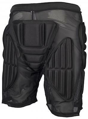 BULLET Padded Shorts Hip Protection, Bum Pads - SMALL  Skate / Snowboard / Derby
