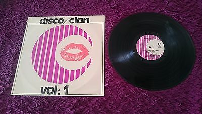 Eurosound Orchestra ‎– Disco Clan Vol.1 , Vinyl, LP , 1977 , Spain , Clan 1