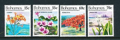 Bahamas 1993 Environment Protection (1st series) Wild Flowers set of 4