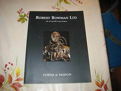 Power & Passion 19 & Early20C Sculpture Art Catalogue Book Catalogue