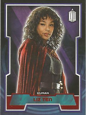 "Topps Doctor Who 2015 - No. 137 ""Liz Ten"" Red Parallel Card #06/50"