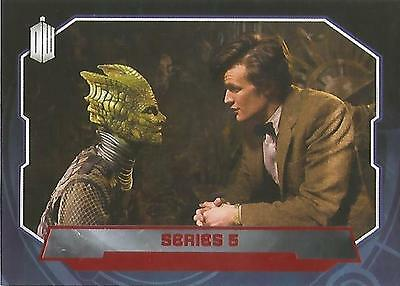"Topps Doctor Who 2015 - No. 197 ""Series 5"" Red Parallel Card #24/50"