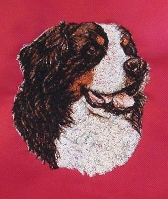 Embroidered Short-Sleeved T-shirt - Bernese Mountain Dog AED14847 Sizes S - XXL