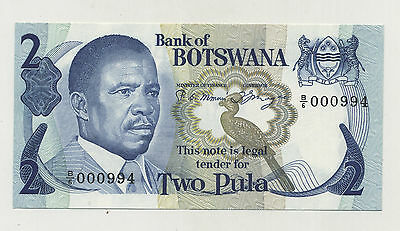 Botswana 2 Pula ND 1922 Pick 7.d aUNC Almost Uncirculated Banknote