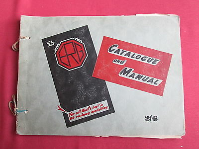 The ERG model railway Catalogue and Manual 1949