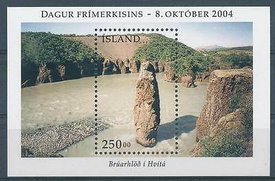 244052) Island Block 36** Tag der Briefmarke