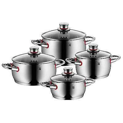 WMF Topfserie QUALITY ONE Topfset 4 teilig COOL+Griffe AKTION
