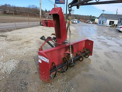 Agro Trend 3096S 8' Snow Blower, 3 Point Hook Up, 540 PTO, Hydraulic Adj. Chute
