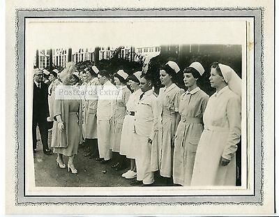 Benenden Hospital, Kent - Queen Mother royal visit - c1970's photograph
