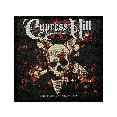 """Cypress Hill"" Skull & Crossbones Band Art Hip Hop Music Sew On Applique Patch"