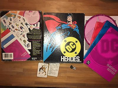 COMPLETE Mayfair DC HEROES Box Set Role Playing Game RPG