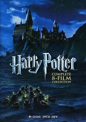 Harry Potter: Complete 8-Film Collection [8 Discs] (2011, REGION 1 DVD New)