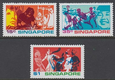 Singapore 1972 ** Mi.164/66 Jugend Youth [st1640]