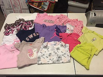 Lot of Baby Girl Clothes - 6-9M - 14 Pieces