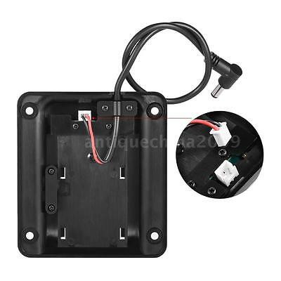 Camera Battery Plate Back Pack Adapter for SONY NP-F970 F550 F770 F960 F750 A0J2