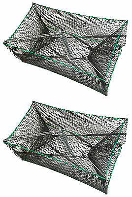 2-Pack of KUFA foldable Shirmp Prawn Trap made by galvanized steel S32x2