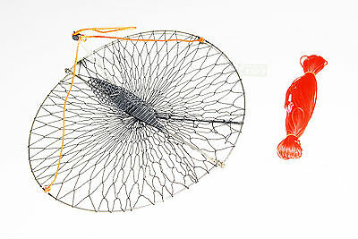"""KUFA Casting Crab trap with 100' line (size:Diameter 22"""") CR55"""