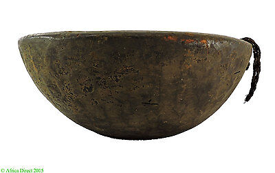 Nupe Wood Bowl Nigeria African Art