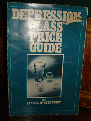 Depression Glass Price Guide Reference Book 1976 STOUT