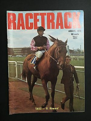 Racetrack Magazine August 1972 Tails Cover