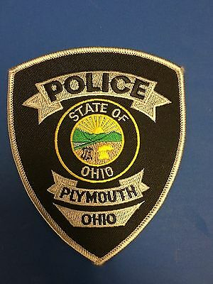 Plymouth Ohio Police  Shoulder Patch