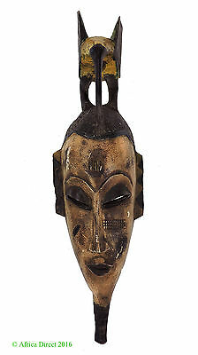 Guro Mask with Bird on Top African Art