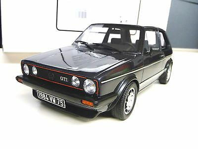 1:18 Otto VW GOLF Rabbit 1 MK1 GTI  1800 darkblue Limited Edition NEW