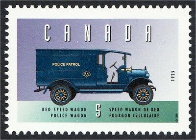 REO Speedwagon Police Truck from 1925 Canada Stamp #1605d MNH