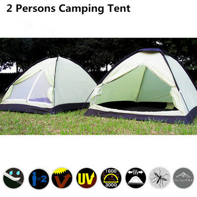 Outdoor 2 Person Camping Hiking Tent Dome Waterproof Instant Backpacking Shelter