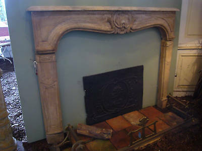 Kaminmaske Louis XV Ofen Herd Kamin chimney face  Kamineinfassung  fireplace