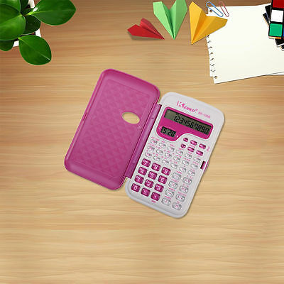 Portable Handheld Multi-Function Scientific Function Calculator With Button Cell